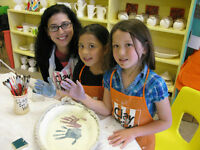 Clay for Kids and Adults pottery studio