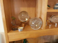 Solid Glass Gazing Balls at KeepSakes Antiques