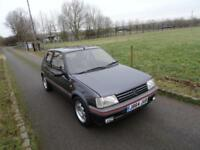1991 Peugeot 205 1.6 GTI ++ CLASSIC ++ SERVICE HISTORY ++ ORIGINAL EXAMPLE