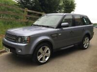 LAND ROVER RANGE ROVER SPORT HSE 5.0 SUPERCHARGED 10 REG
