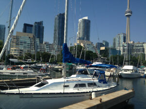 NEW PRICE!! Beautiful Mirage sailboat now for sale