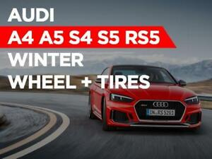 Audi A4, A5 S3 S5 RS5 Winter TIRE + WHEEL Package 2018 - 2019 TOTO TIRE
