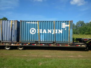 20 ft storage containers good and dry $2600 delivered brantford