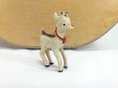 Bethany Lowe Designs RARE Old World Rudolph Christmas Tree Ornament