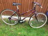 Raleigh pioneer Trail 27 lady's bike