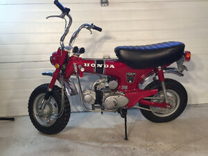 47 year old Honda ct70 complete restoration