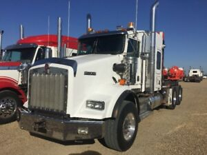 2013 KENWORTH T800 WINCH TRACTOR