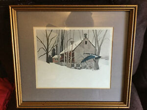 2 framed prints by Henerson