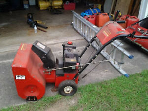 running or not 1980s-90s 5/23 dual stage snowblower wanted