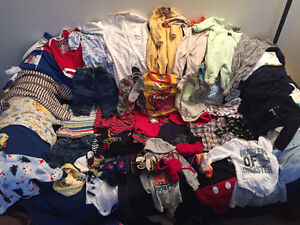 Boys clothing size 0-6 months