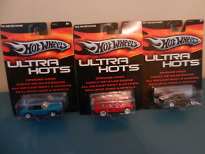 Hot Wheels Ultra Hots Mustangs Lot of 3