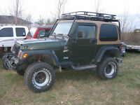 Parting out 1997 Jeep TJ
