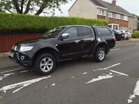 Mitsubishi l200 barbarian 2.5did automatic lwb double cab pick up top spec 10plate no vat!!!