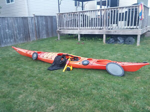 Kayak-Wilderness System Zephyr 160 (EXCELLENT CONDITION)