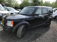 LAND ROVER DISCOVERY 3 TDV6 HSE Blue Auto Diesel, 2007 07 117000 MILES
