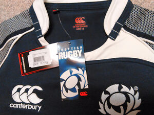 NEW Canterbury of New Zealand Scottish Rugby Jersey London Ontario image 4