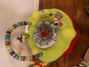 Exersaucer and baby chair
