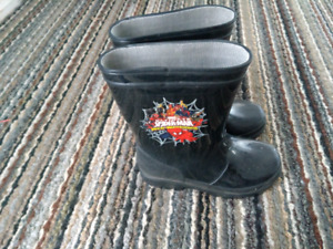Spiderman 9T rubber boots