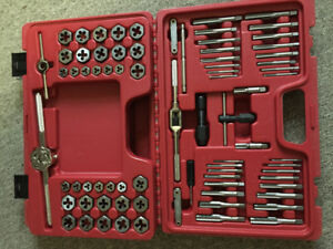 76 piece MAC TOOL tap and dye set. BRAND NEW