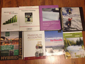 RYERSON BUSINESS MANAGEMENT/ ACCOUNTING & FINANCE TEXTBOOKS.