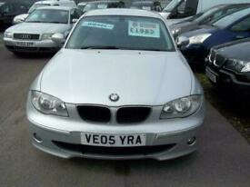 image for BMW 120 2.0TD 2005MY d SE 5door DIESEL SILVER SORRY NOW SOLD