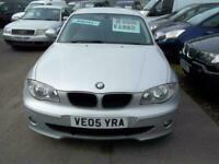 BMW 120 2.0TD 2005MY d SE 5door DIESEL SILVER SORRY NOW SOLD
