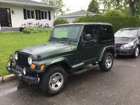 Jeep TJ Sahara, 4.2L-Certified Inspection Available