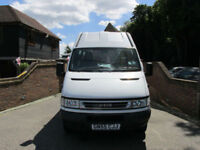 2005 (55) IVECO DAILY 50 C13 MINIBUS + 16 SEATER + REAR ELECTRIC RAMP