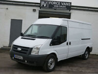 FORD TRANSIT TDCi Duratorq 140PS 6 SPEED 350 LWB SEMI HIGH ROOF PANEL VAN 140BHP
