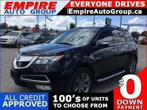 2012 ACURA MDX ADVANCE AND ENTMT PACKAGES * AWD * LEATHER * NAV