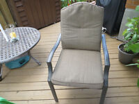 Patio chair cushions only