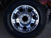 "BRAND NEW LARIAT 20"" RIMS!! TOYO WLT-1 WINTER TIRES"