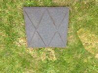 Children rubber safety mats x 60