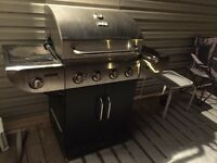 Master chef BBq 1.5. Years old with partly loaded cylinder