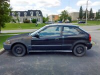 1996 Honda Civic CX Hatchback with moonroof for parts or repair