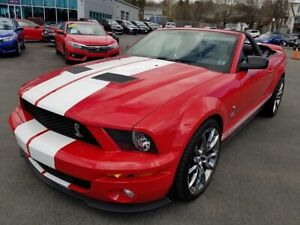 2008 Ford Shelby GT500 Convertible / Super Charged / 6 Speed