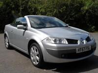 Renault Megane 1.6 VVT Dynamique CONVERTIBLE JUST 50000 MILS 57 PLATE 2008 YEAR