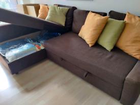 Corner sofa-bed with storage - Price on IKEA is £499