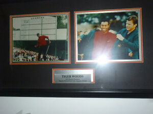 tiger woods and Nick faldo 97 masters