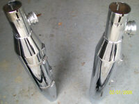 CHROME EXHAUST NEW HERITAGE SOFTAIL