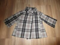 "GIRLS ""OLD NAVY"" JACKET - SIZE MEDIUM"