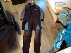 Wet suit bare 7mm + 7mm