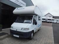Elnagh marlin four berth motorhome for sale