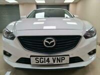 Mazda Mazda6 2.2 SKYACTIV-D Sport White Auto 173BHP DIESEL WARRANTY 12 MONTH MOT