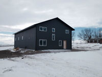 Warehouse space for rent - 5 min east of Okotoks - Heated
