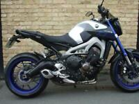 2015 Yamaha MT-09,MT09 ,Only 10,100 miles from new , Alarm & Datatag.