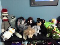 Selling a variety of stuffies