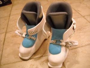 Ski alpin-head-kid-boots-bottes
