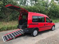 2010 Vauxhall Combo Tour 1.3 CDTi 16V 5dr AUTOMATIC WHEELCHAIR ACCESSIBLE VEH...