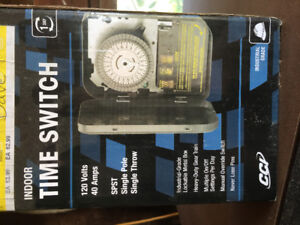 Brand new in box industrial grade time switch